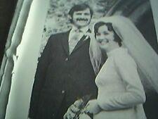 ephemera 1972 kent picture wedding r stroud miss jane walker herne bay