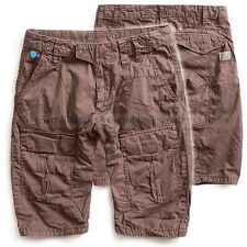 G-STAR RAW CARGO SHORTS ARC LOOSE TAPERED 1/2 COMBAT BROWN  W30 RRP$195
