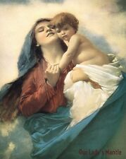 8x10 Religious Art Print Picture Mary w/ the Christ Child MADONNA OF THE CLOUDS