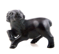 Ebony Ironwood Hand Carved Netsuke Sculpture Miniature Goat Antelope #010615