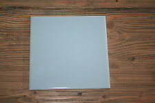 Nos 1 pc American Olean Ceramic Light Blue Wall Tile 6 x 6 Square Made in Usa