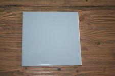 25 pcs Lot American Olean Ceramic Azure Blue Wall Tiles 6x6 Reclaimed New