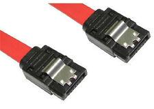 45cm Serial ATA Data Cable SATA II Serial ATA 2 Lockable  Straight to Straight