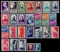 L'ANNÉE 1948 Complète, Neufs * = Cote 37 € / Lot Timbres France n°793 à 822