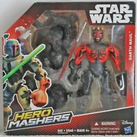 "Darth Maul Star War Hero Mashers 6"" Action Figure Hasbro 2015 NIB"