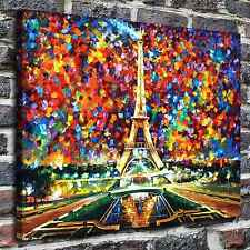 Paris Eiffel Tower Paintings HD Print on Canvas Home Decor Wall Art Pictures