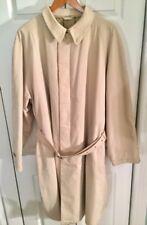 GIORGIO ARMANI BLACK LABEL Beige Men's Raincoat, Vintage, Sample, XXL