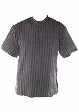 Men's Loose Fit Striped Casual Shirts & Tops