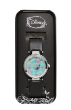 Disney The Little Mermaid Ariel Swim Scales Bling Faux Leather Strap Watch NIT!