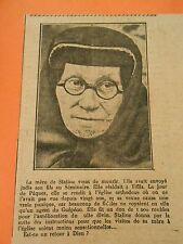 La Mère de Staline vient de Mourir Print 1937