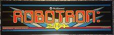 """Robotron Arcade Marquee 24.25"""" x 7.25"""""""