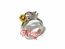 HARRY POTTER GOLDEN SNITCH RING QUIDDITCH GOLD AND SILVER PLATED BEST QUALITY!!!