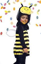 Baby-Kostüm Biene Bienchen Gr. 80/86 Plüsch super weich gelb/schwarz NEU