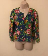 Womans Button Clip Cardigan Size Xl Large Lg By Adrienne Vittadini Sport
