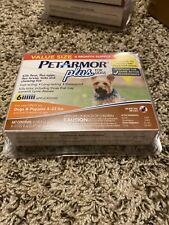 PetArmor Plus Flea and Tick Prevention for Dogs 4-22 lbs - 6 Count