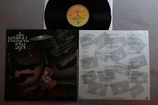MORTAL SIN face of despair VERTIGO LP + Lyrics Inner 836 370-1!