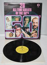 """12"""" LP - 20 All Time Greats Of The 50's - K-Tel NE 490 - 1972"""