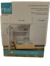 Real Solutions Wmub-17-4-R-Asp Cabinet Organizer,Soft Close,Box Pull O