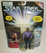 1995 Playmate Star Trek Geordi LaForge Retired Starfleet Officer Figure MOC
