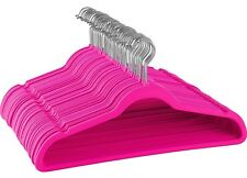 Non-Slip Velvet Hangers - Suit Hangers, Ultra Thin Space saving Durable Hangers
