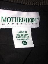 Motherhood Maternity Black Dress Sz M