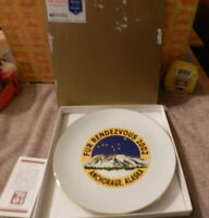 """Jill Butler Porcelain Rendez-Vous Plate Set of 4 NEW 7.5/"""" Plates Amis Dishes"""