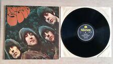 The Beatles- Rubber Soul- 1965 UK Mono Second Pressing 14 Track Vinyl LP. VG+
