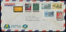 MayfairStamps Netherlands 1966 to Des Moines Iowa Air Mail Cover WWH41821