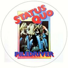 "STATUS QUO PILEDRIVER VINYL STICKER 100MM 4"" QUALITY LOTS MORE LISTED"