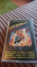 last action hero cassette 1993 Columbia COL 473990 4 rare