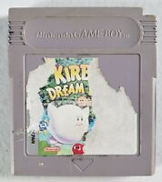 Kirby's Dream Land Nintendo Original GameBoy Game - Tested - Working - Authentic