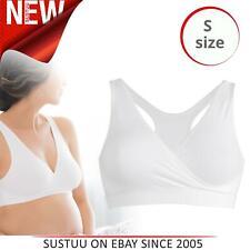 Medela Sleep Bra│Women's Breastfeeding Maternity & Nursing Innerwear│White│Small
