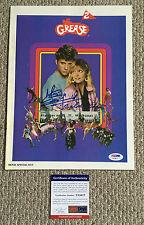 MAXWELL CAULFIELD Signed GREASE 2 Original 1982 Movie PROGRAM T-Birds PSA/DNA