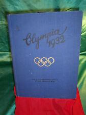 Sammelalbum Olympia 1932 Los Angeles olympische Spiele Sammelbilder Buch alt