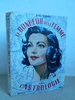 El Suerte de La Mujer De Astrología Jean Copart Arista Spica Floreado 1954