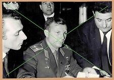 Photo 18 x 13 vintage Russie URSS Russia Youri Yuri Gagarine Gagarin gd032