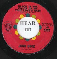 John Buck EARLY R&R INSTRO 45 (Warner Bros 5288) Black is the Color of My True