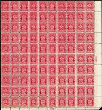 680, Mint Vf Nh Full Sheet of 100 2¢ Stamps Brookman $190.00 - Stuart Katz