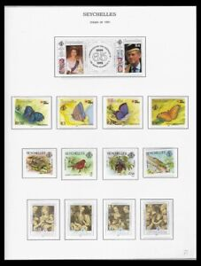 SEYCHELLES 1991-93 ISSUES ON 3 PAGES (LHM/UHM) *CLEAN & FRESH*