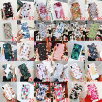 For iPhone XS Max XR 6 7 8 Plus Floral Pineapple Flower Girl Soft TPU Case Cover