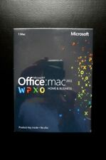 Microsoft Office for Mac 2011 Home and Business Word Excel Outlook etc W6F-00202