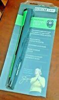 NEW Boccieri Secret BACK WEIGHTED Putter Grip - Black/Green or Black, 155 grams