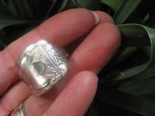 1877 Niagara Falls Spoon Ring Size 9.5 R219 Western Skies Silver