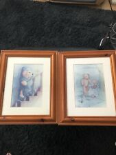 More details for 2 old teddy bear pictures