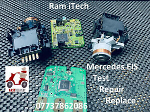 Mercedes EIS Ignition barrel swich Test Repair Replace