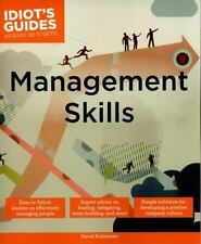 Management Skills (Idiot's Guides) by David Rohlander