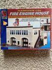 Life-Like Trains Hampden #46 Firehouse Building Kit Ho Scale Trains Fire Engine