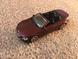 Burago 2008 BMW 645 CI  Ci Cabriolet Car - Scale 1:43