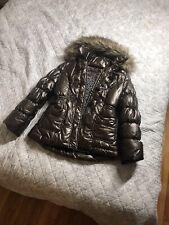 Catimini French girls Coat Jacket winter fall Size 10 Parka Puffer European