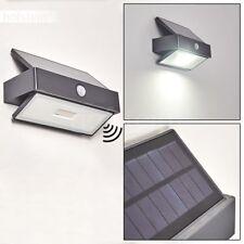 Außen Wand Leuchten Solar LED Haus Tür Einfahrt Terrassen Lampen Bewegungsmelder